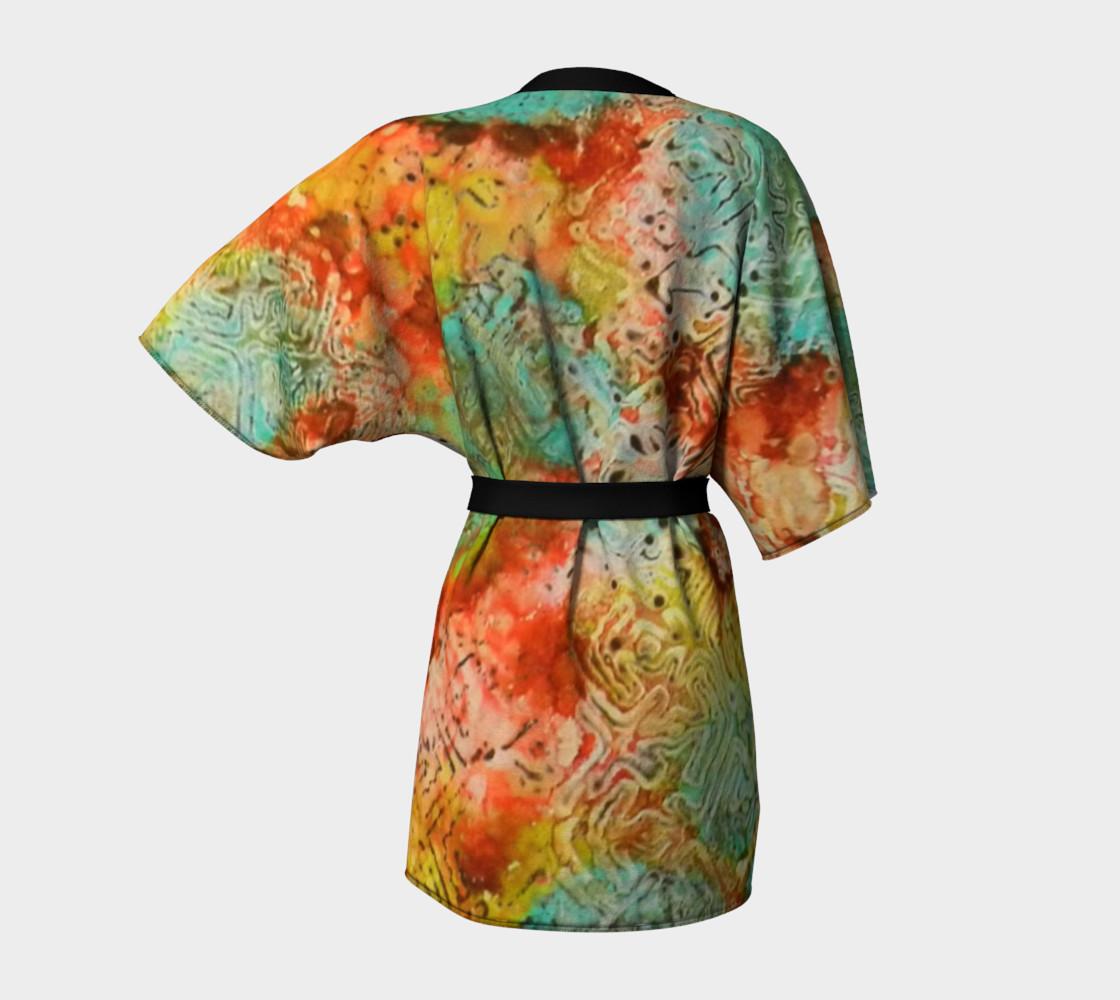 Paprika Drift Ink #18 Kimono Robe preview #4