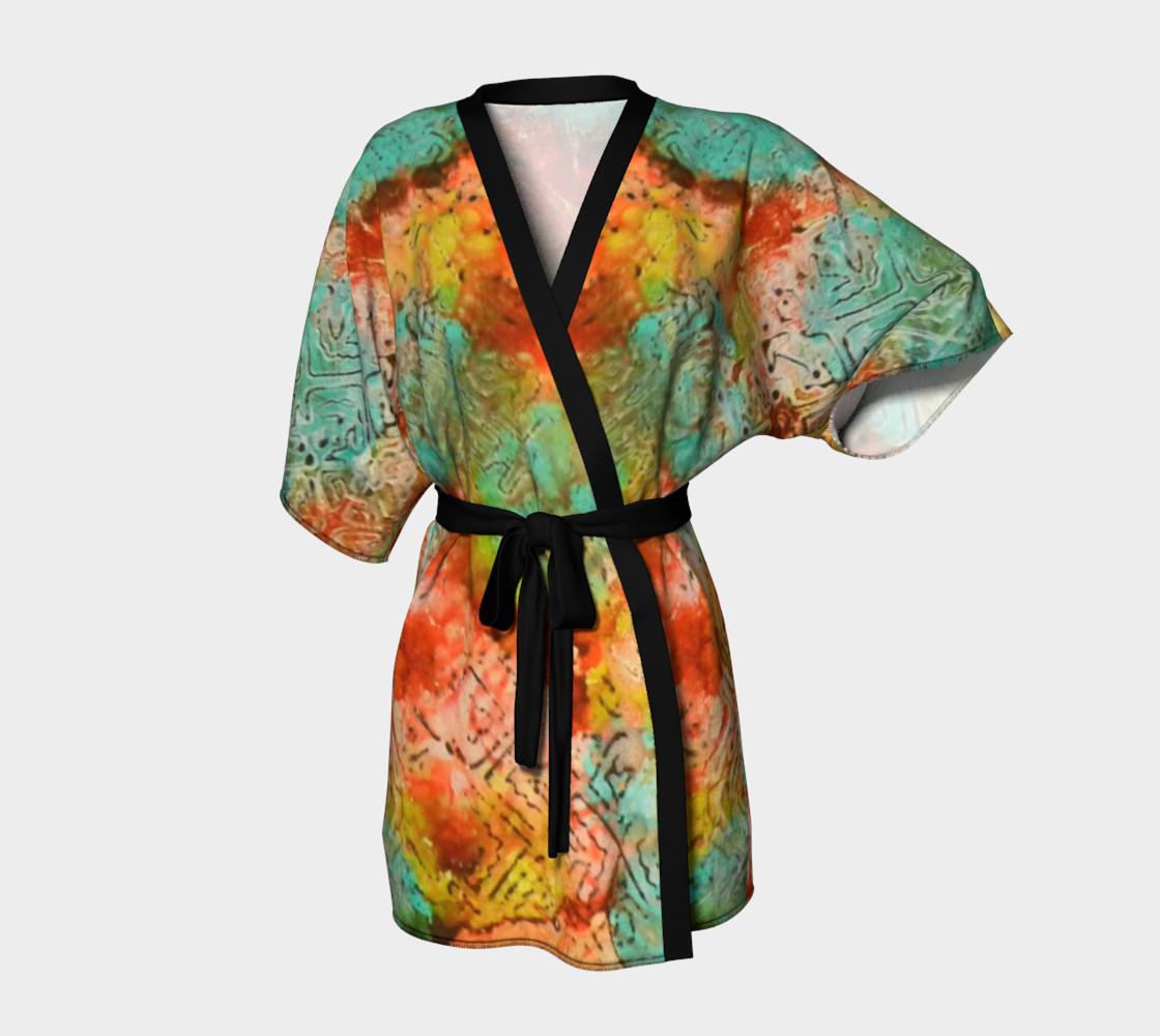 Paprika Drift Ink #18 Kimono Robe preview #1