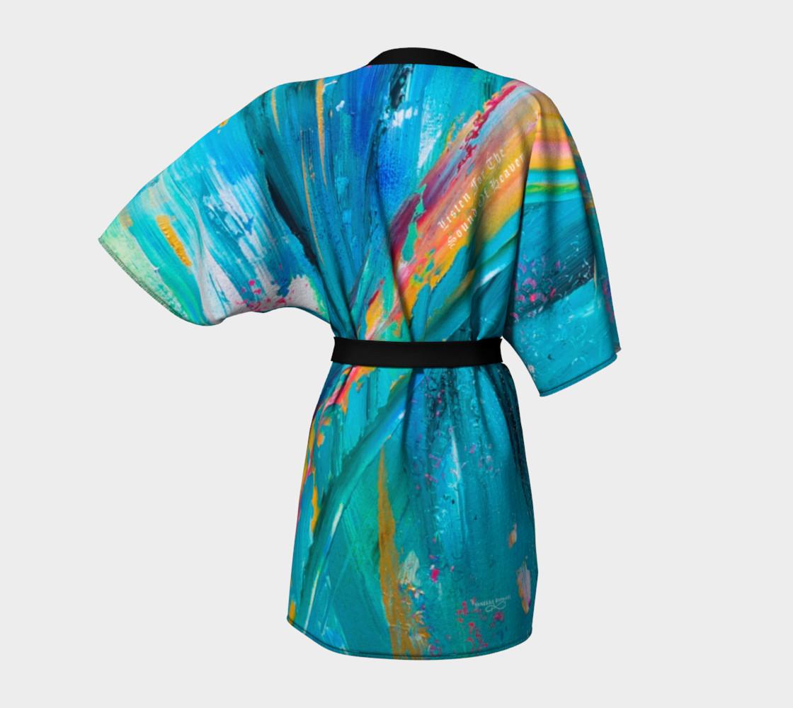 Aperçu de Sound Of Heaven Kimono Robe #4