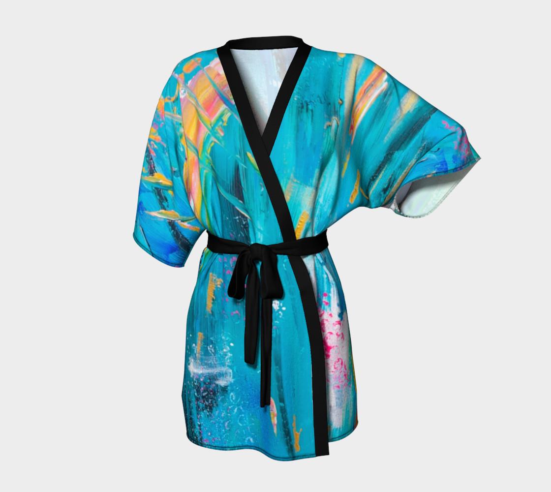 Aperçu de Sound Of Heaven Kimono Robe #1