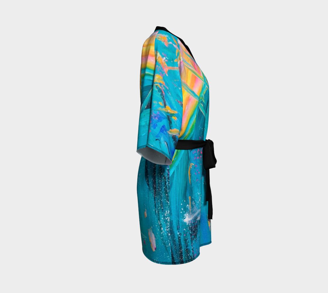 Aperçu de Sound Of Heaven Kimono Robe #3