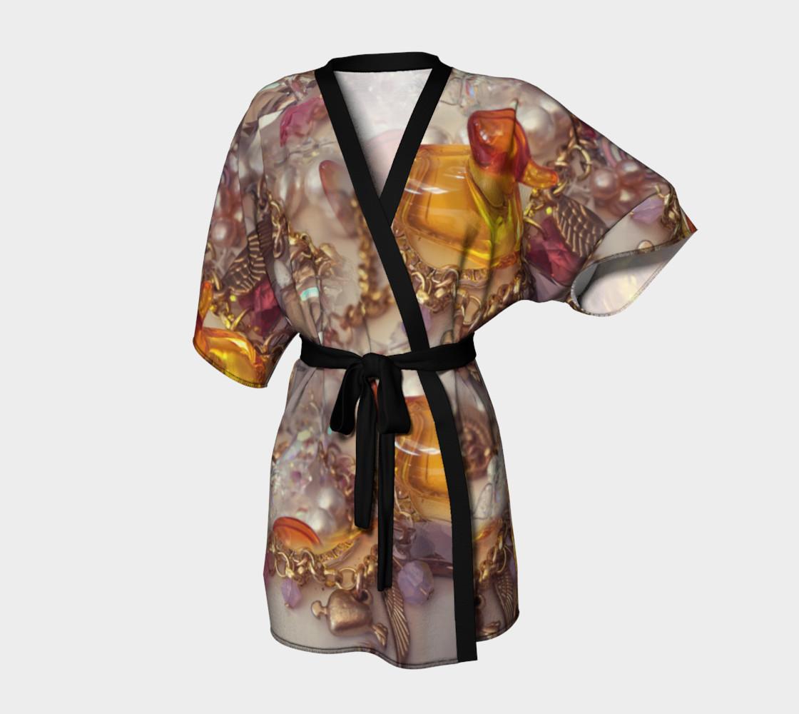 Aperçu de Rubber Duck Kimono Robe #1