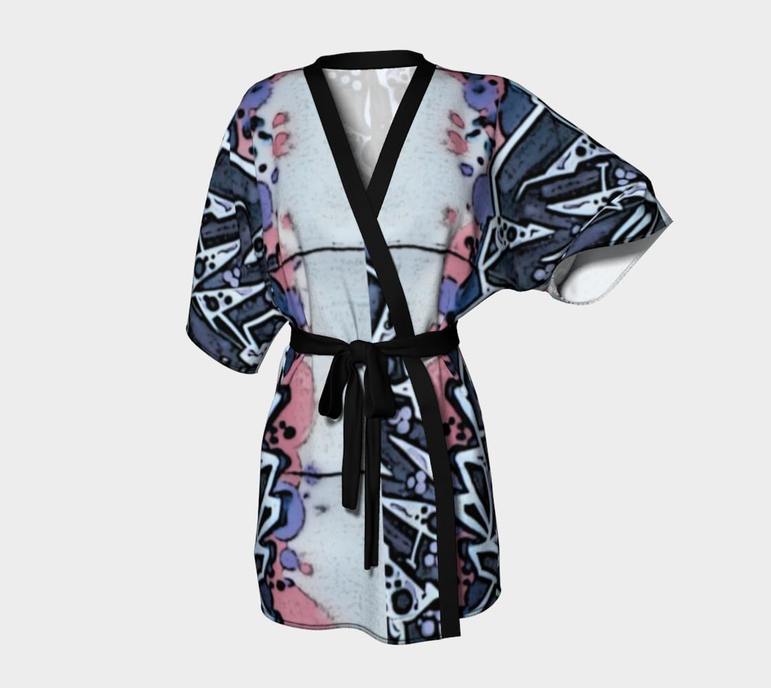 Train Grafitti #4 Kimono Robe preview #1