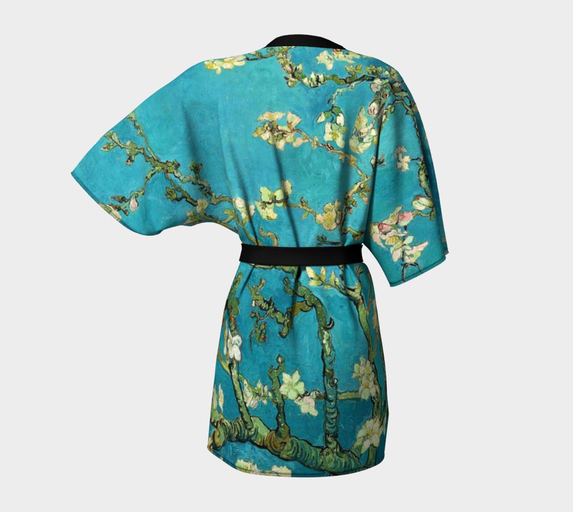 Vincent Van Gogh Blossoming Almond Tree Kimono   preview #4