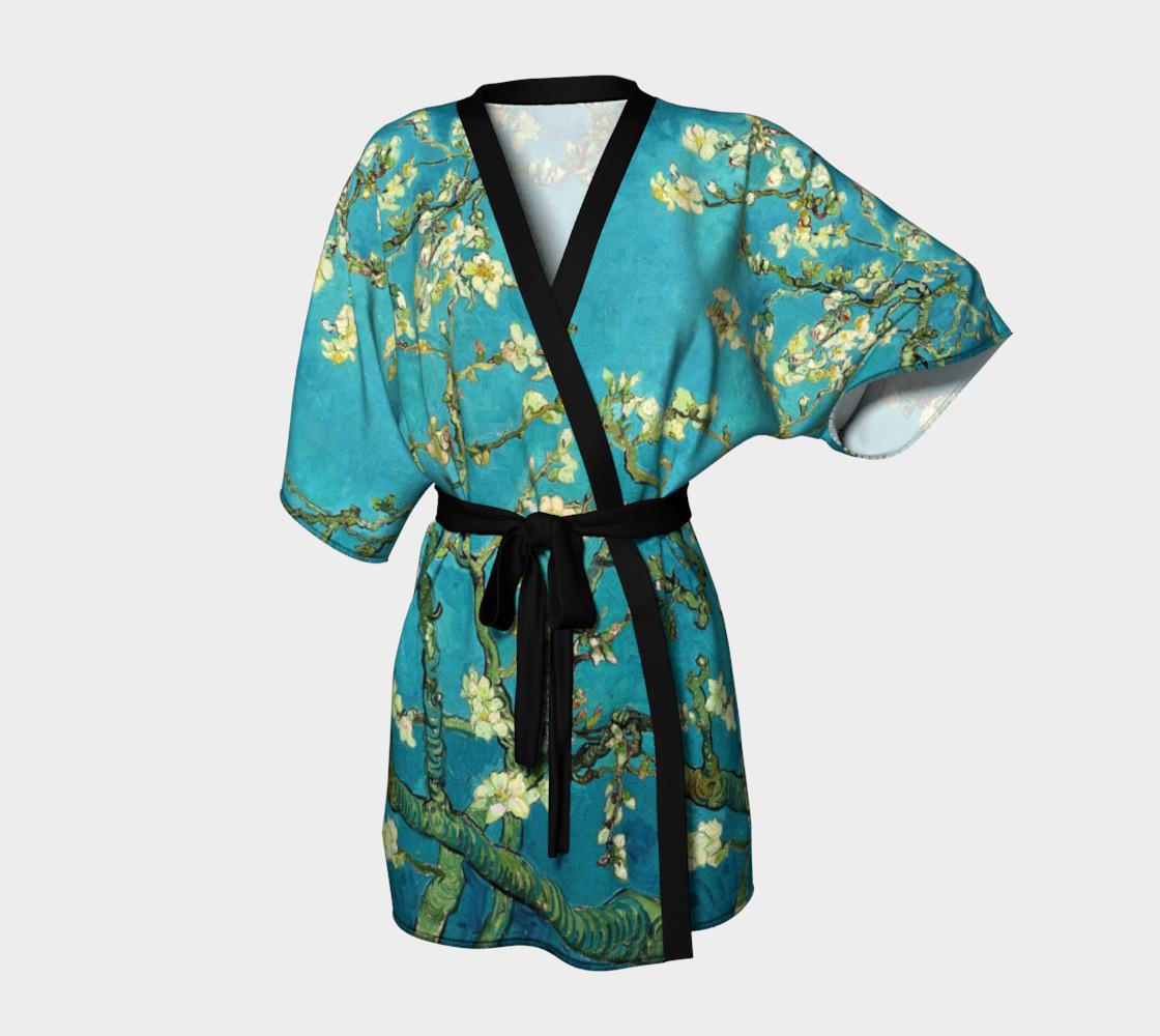 Vincent Van Gogh Blossoming Almond Tree Kimono   preview #1
