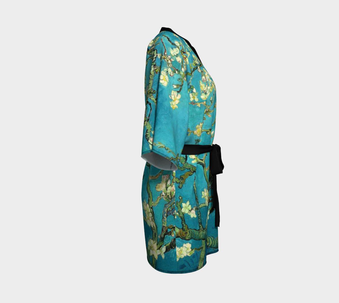 Vincent Van Gogh Blossoming Almond Tree Kimono   preview #3