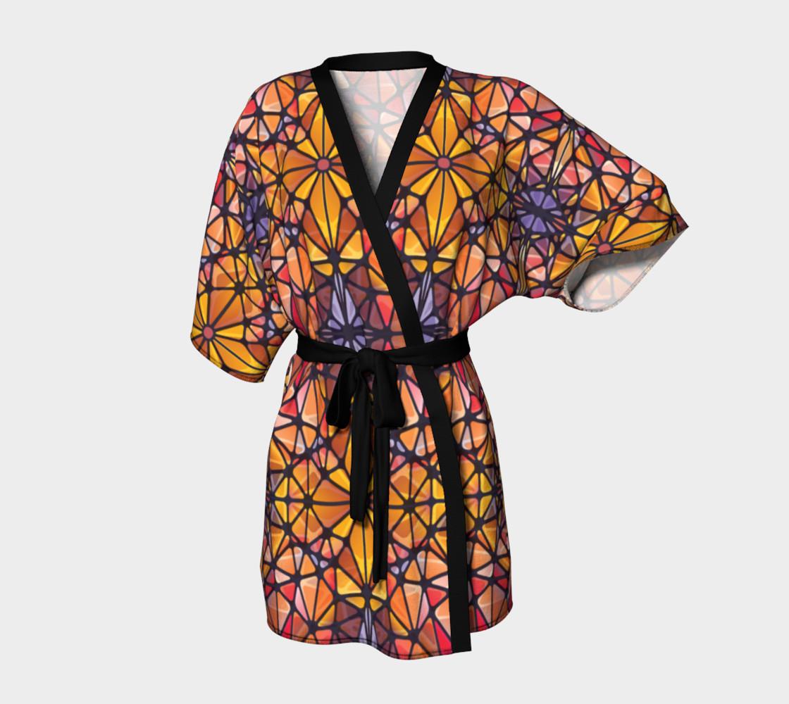 Amber Kaleidoscope Kimono Robe preview #1