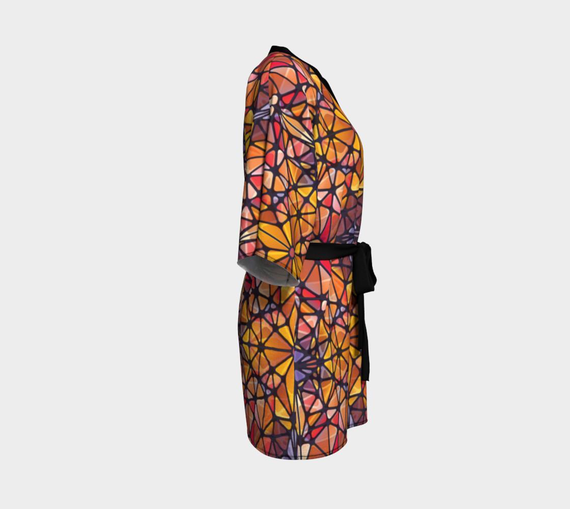Amber Kaleidoscope Kimono Robe preview #3