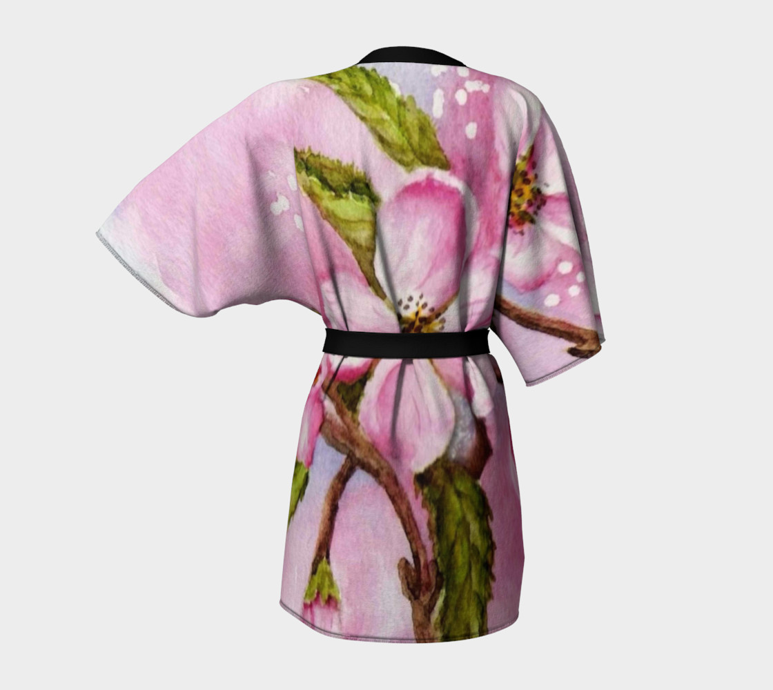 Pink Blossoms Robe preview #4