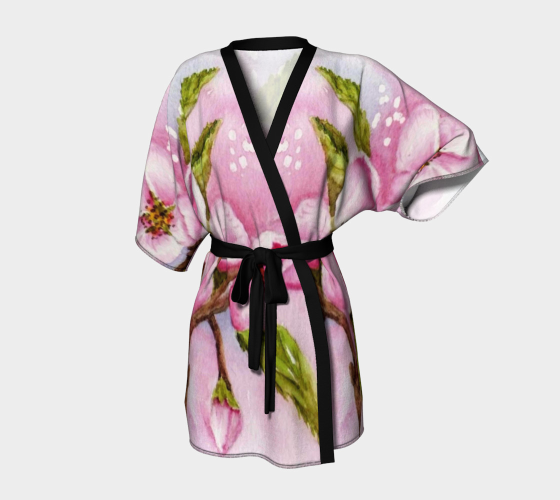 Pink Blossoms Robe preview #1