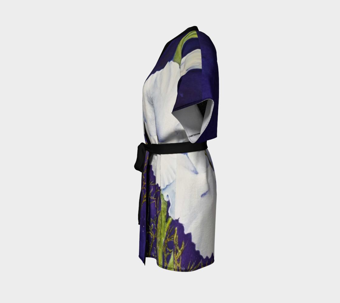 White Gladiola Robe preview #2