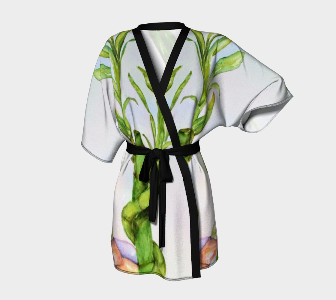 Lucky Bamboo Robe 3D preview