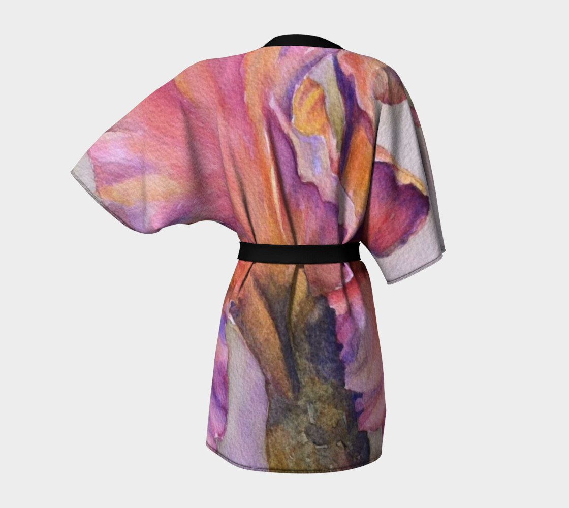 Perfectly Pink Iris Robe preview #4