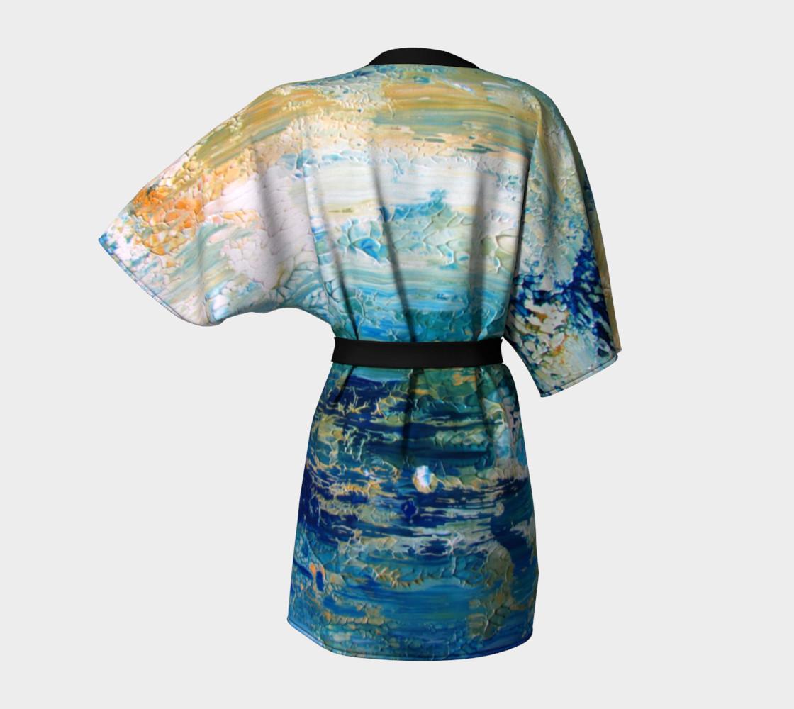 Ocean Kimono-Robe preview #4