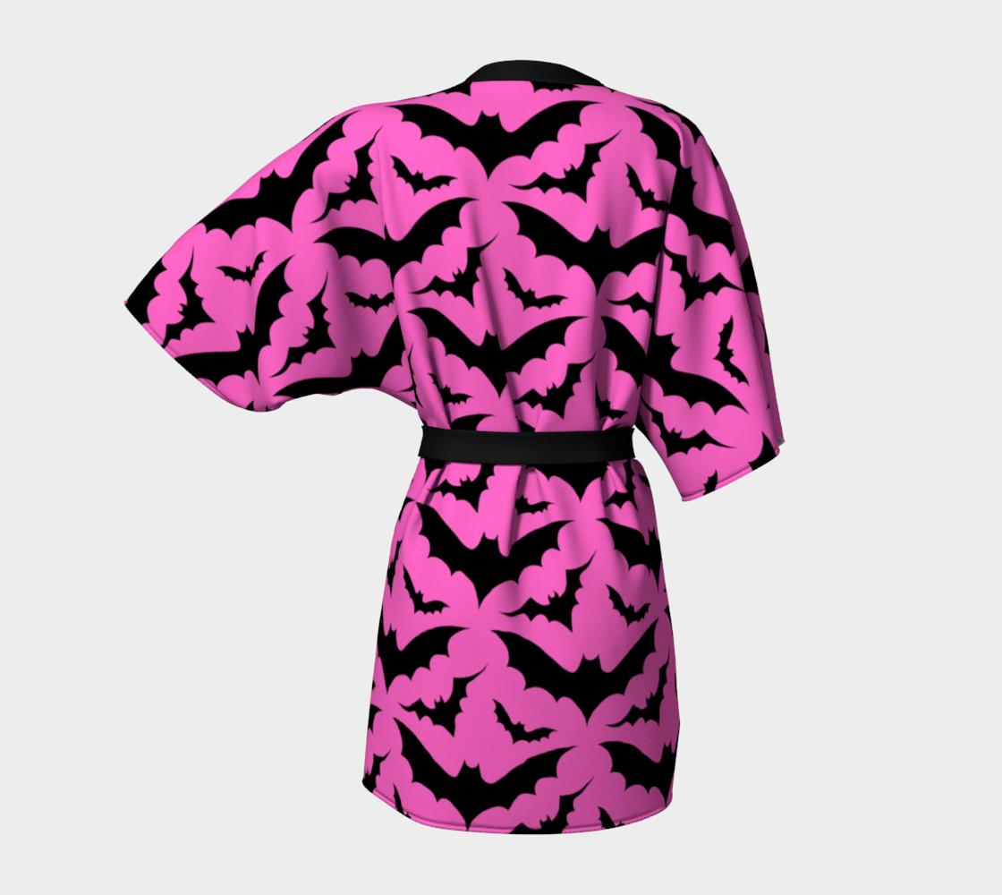 Pink Bats Kimono preview #4