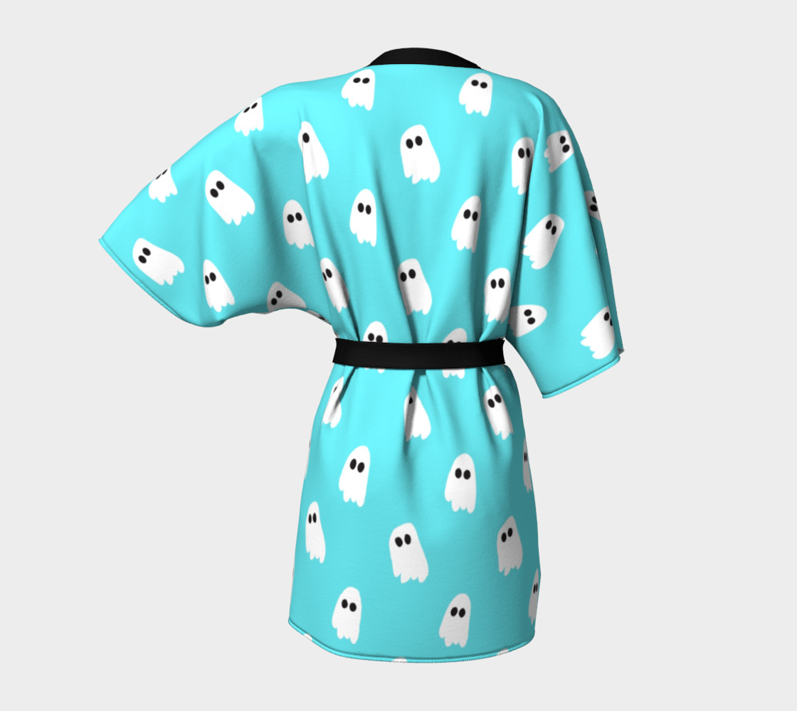 Marshmallow Ghosties Kimono preview #4