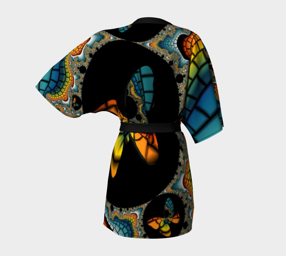 Fractal Butterfly Kimono preview #4