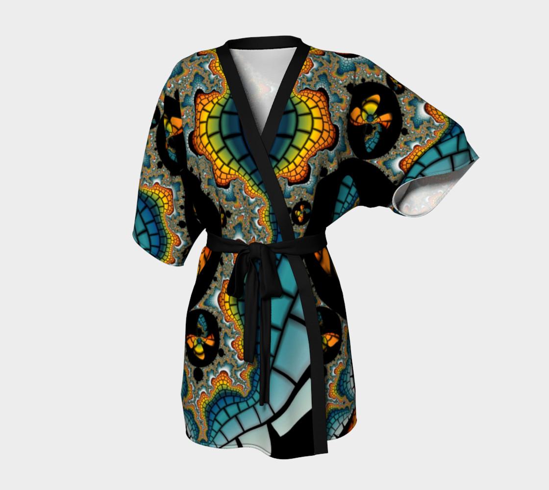 Fractal Butterfly Kimono preview #1