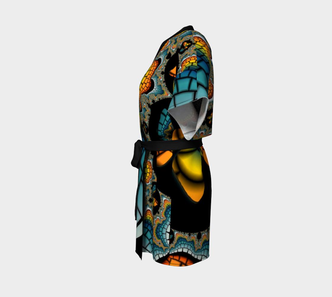 Fractal Butterfly Kimono preview #2