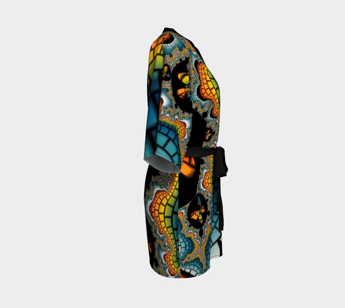 Fractal Butterfly Kimono preview #3