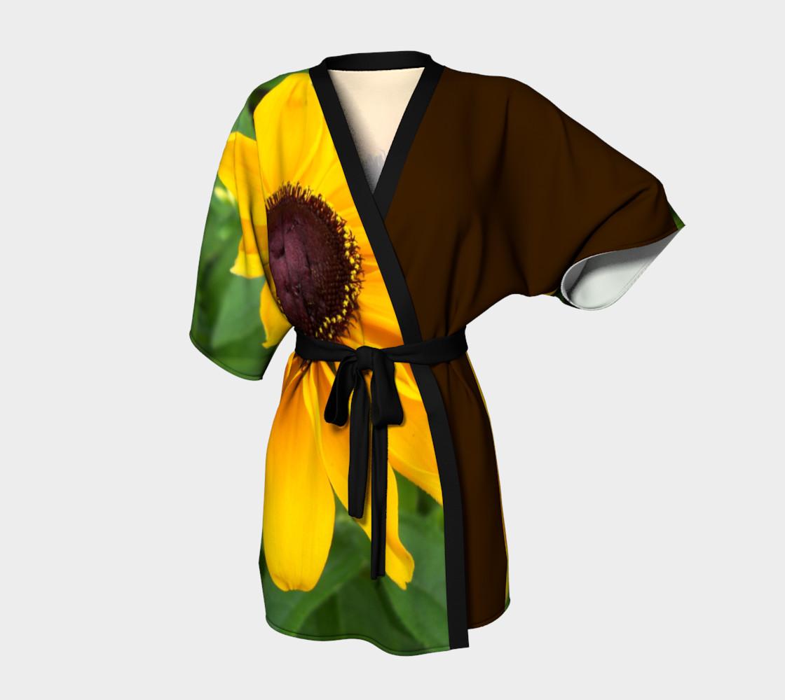 Black Eyed Susan Beauty Kimono preview #1