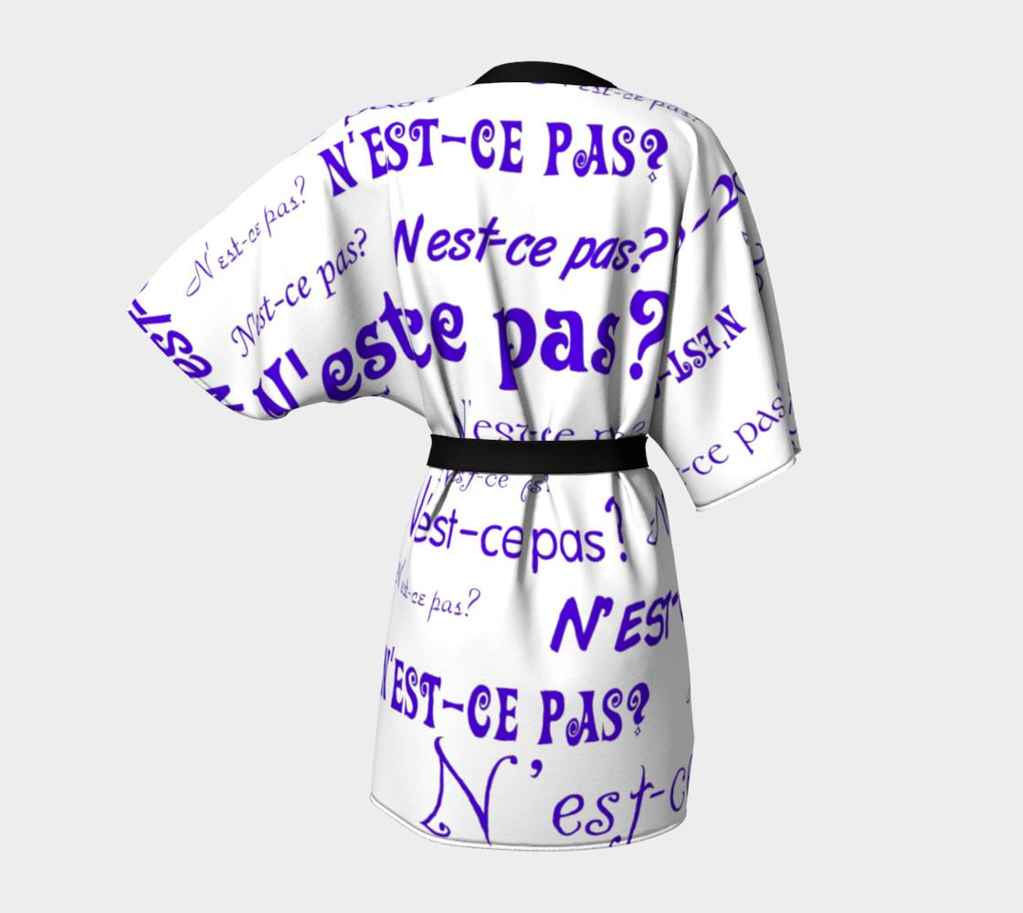 Purple N'est-ce Pas Kimono preview #4
