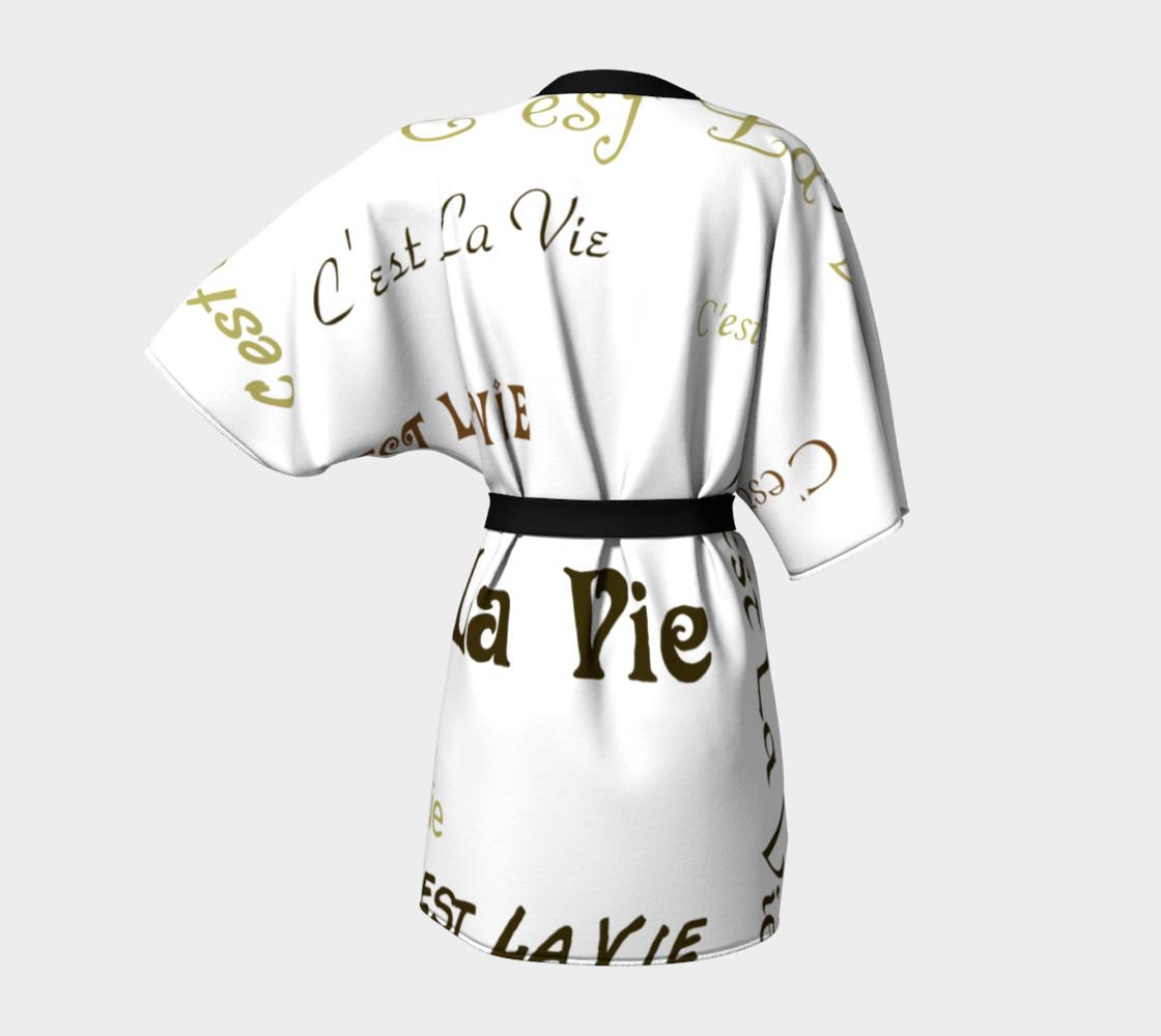 Mocha C'est la Vie Kimono preview #4