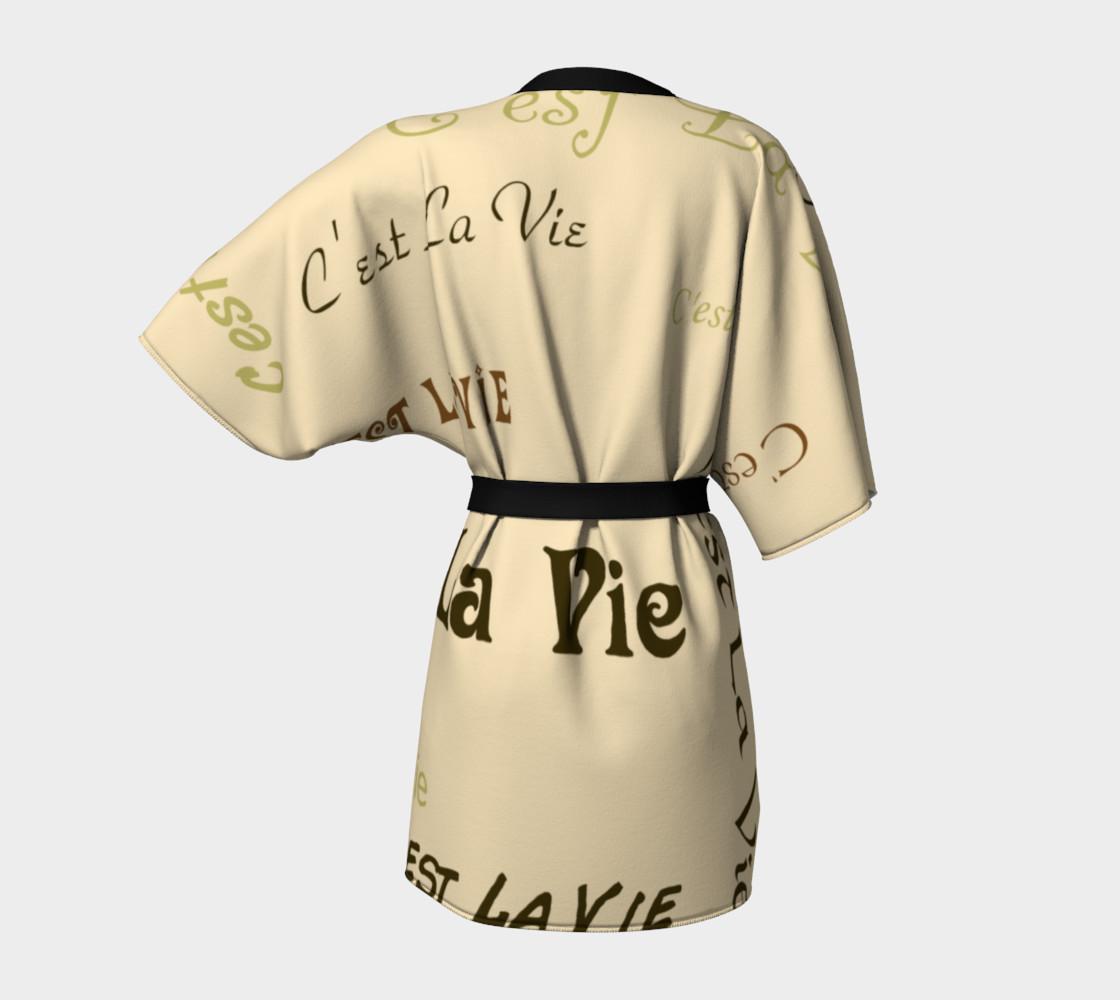 Coffee C'est la Vie Kimono preview #4