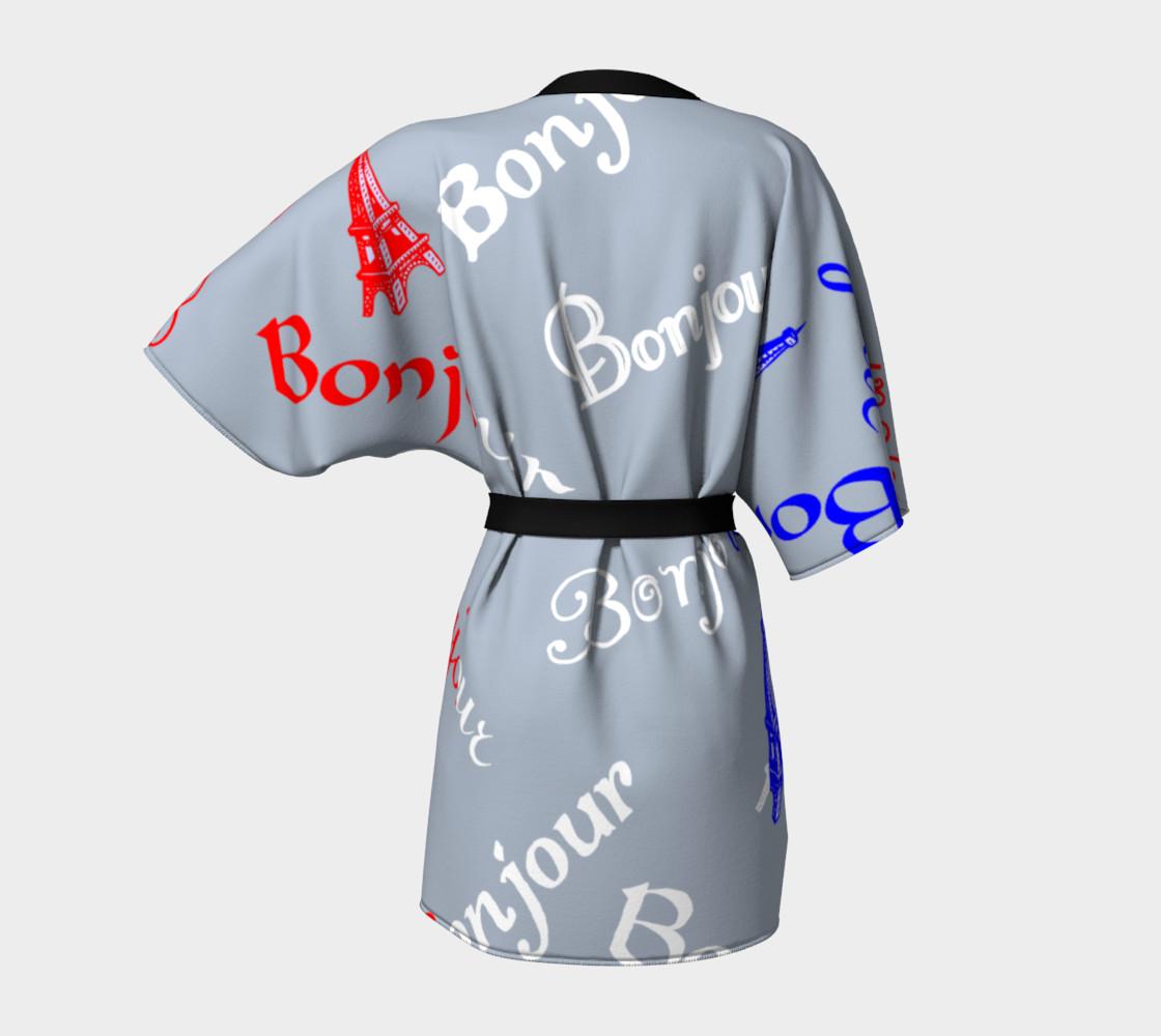 French Flag Bonjour Kimono preview #4