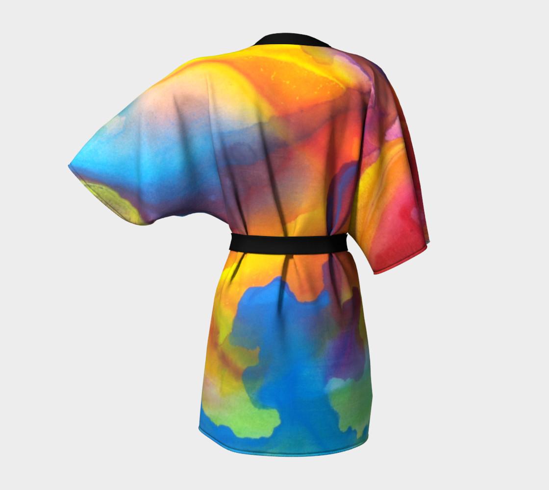 Summer Swirl Kimono preview #4