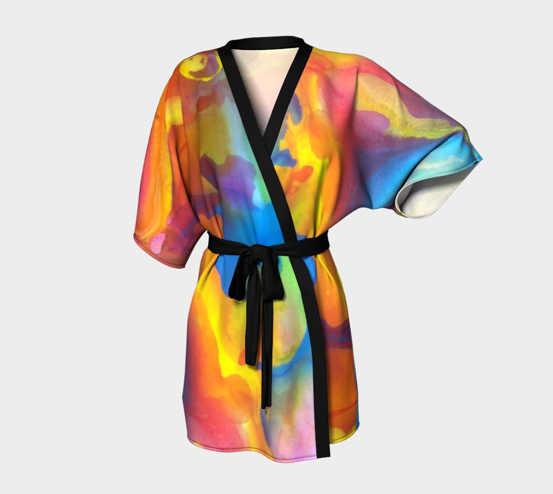 Summer Swirl Kimono preview #1