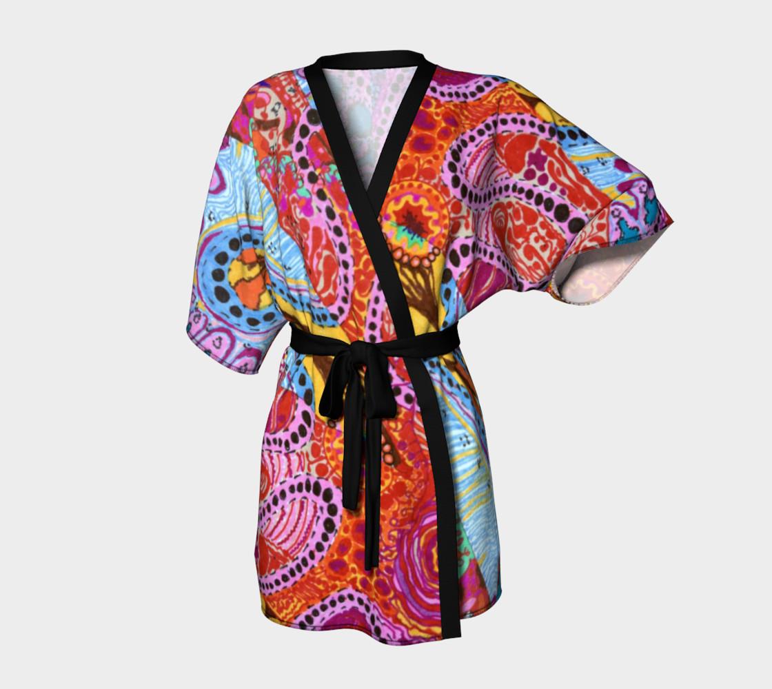 Cellular Spirals Kimono preview #1