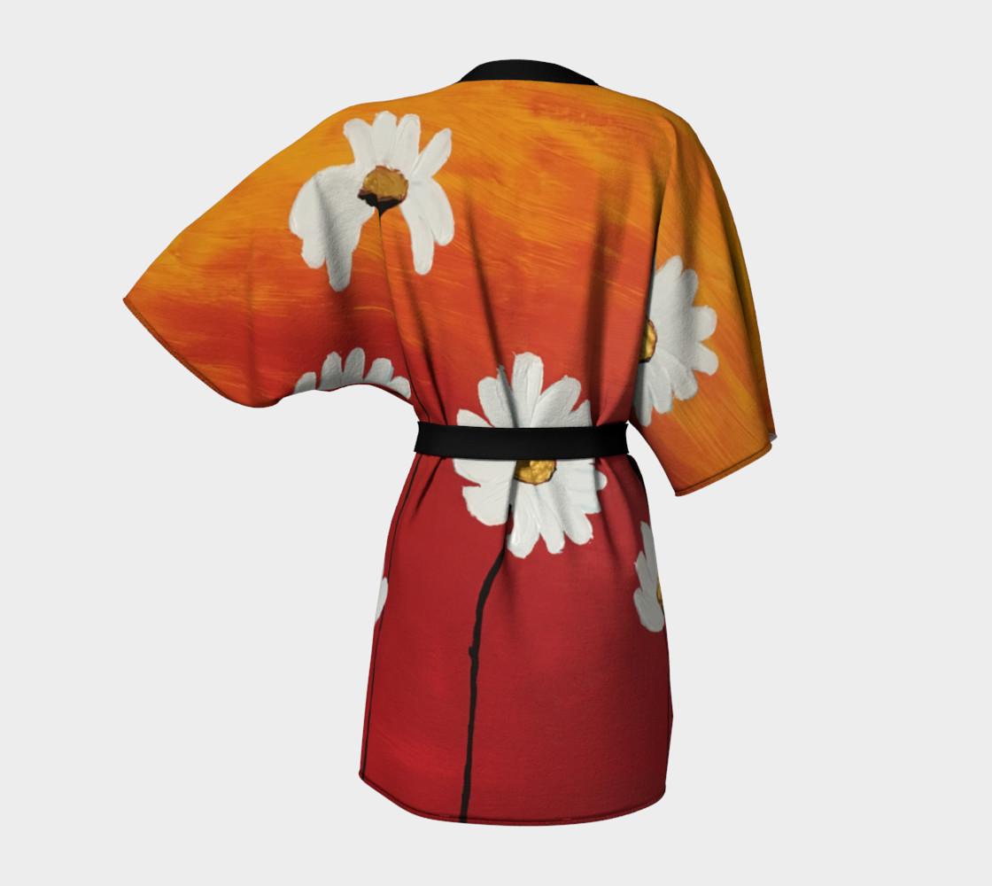 Daisy Sunset Kimono Robe preview #4