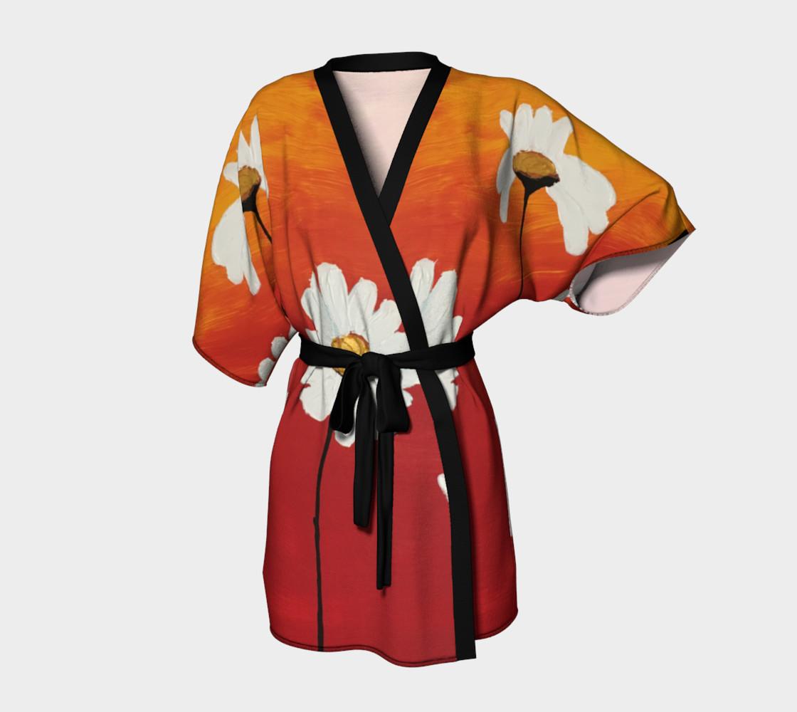 Daisy Sunset Kimono Robe preview #1
