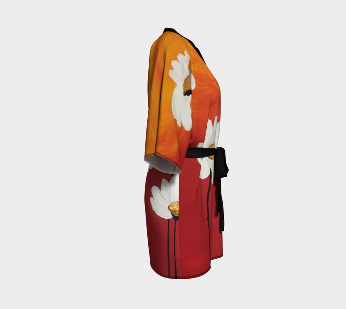 Daisy Sunset Kimono Robe preview #3