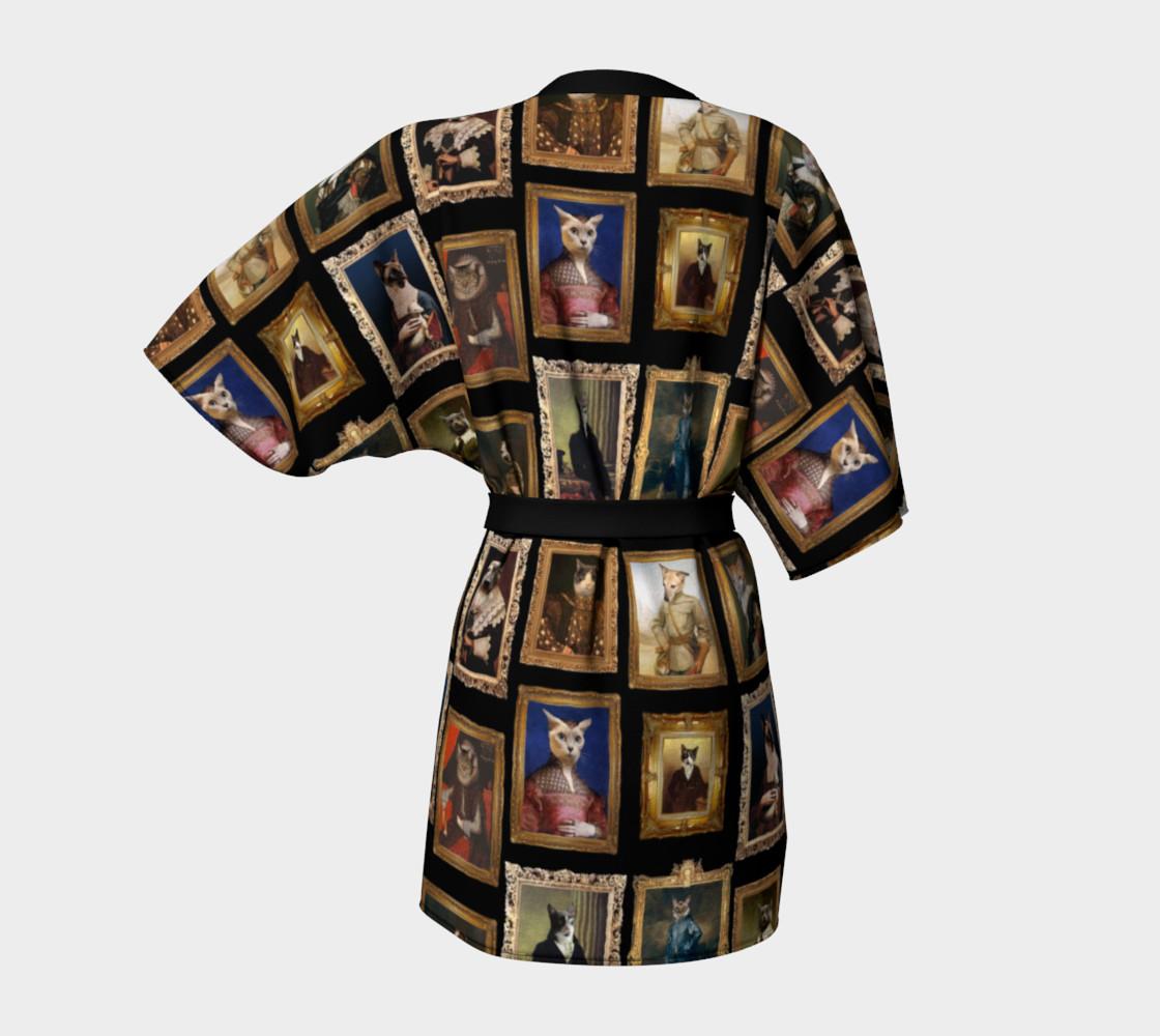 Aperçu de Baroque Pet Portraits - Kimono Robe #4