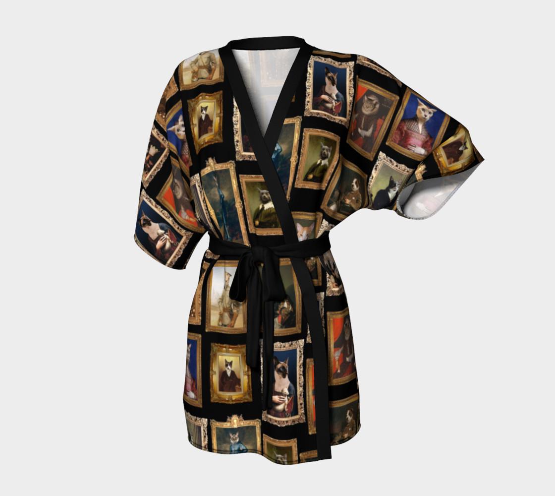 Aperçu de Baroque Pet Portraits - Kimono Robe #1
