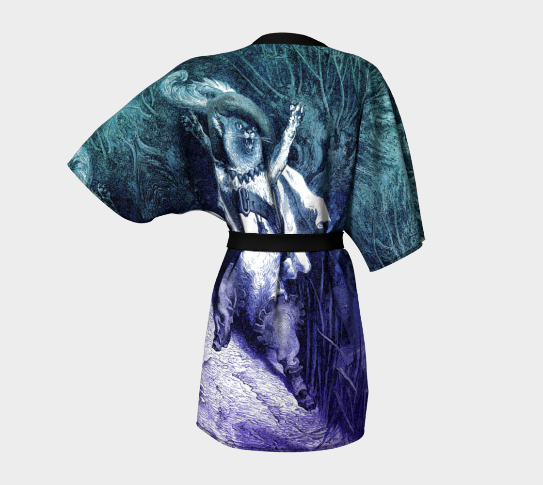 Aperçu de Dore Puss in Boots - Kimono Robe #4