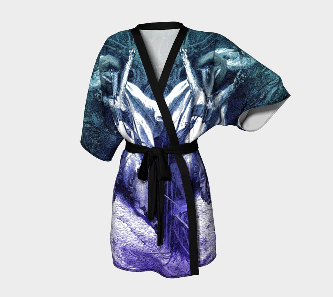 Aperçu de Dore Puss in Boots - Kimono Robe #1