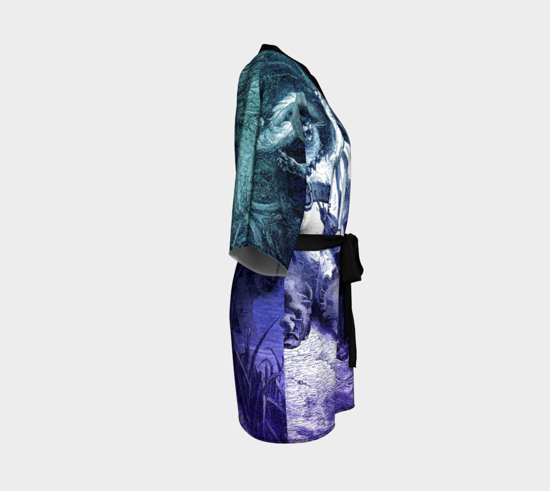 Aperçu de Dore Puss in Boots - Kimono Robe #3