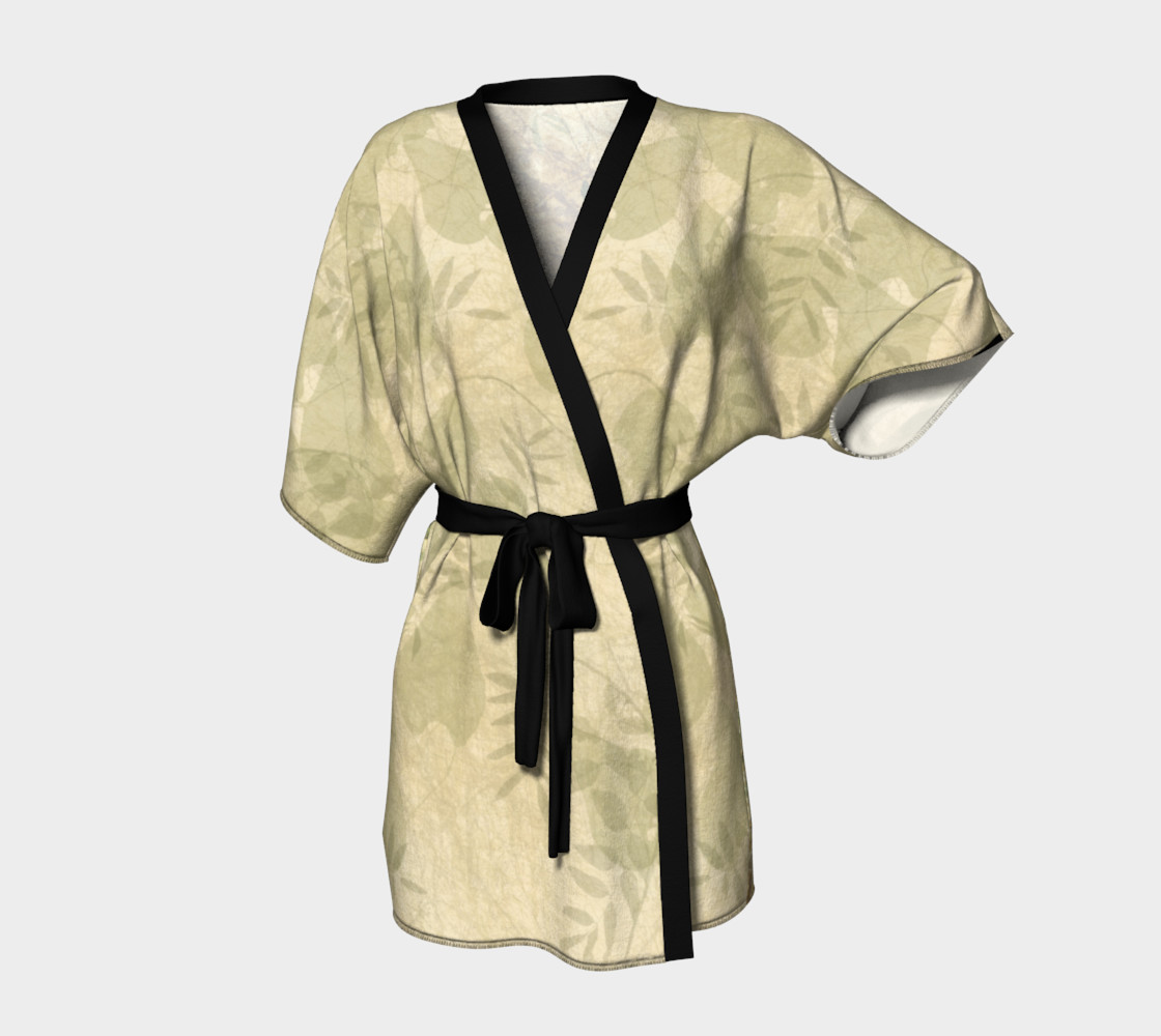 Vintage Roses Kimono by Tabz Jones preview #1
