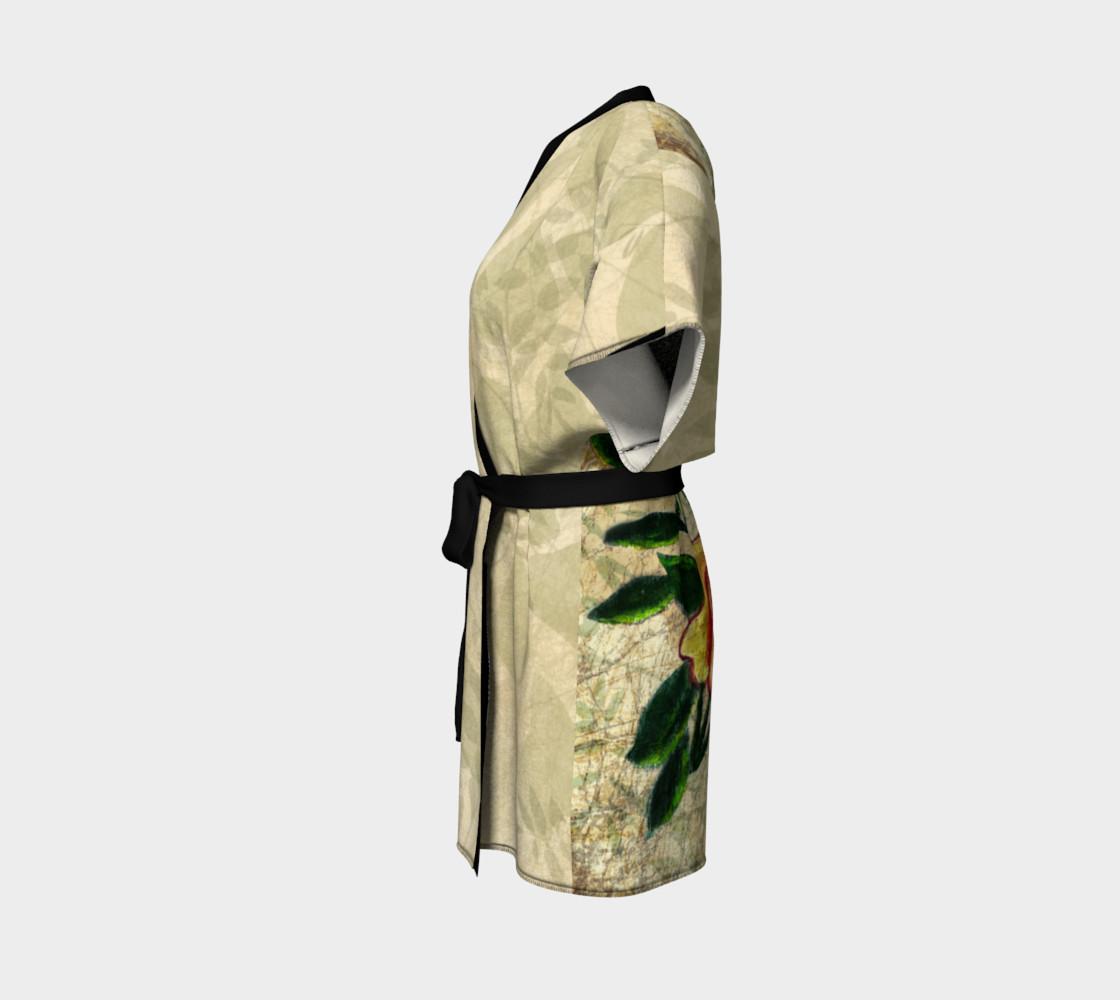 Vintage Roses Kimono by Tabz Jones preview #2
