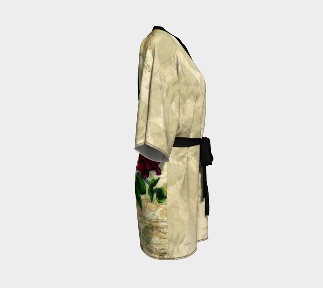 Vintage Roses Kimono by Tabz Jones preview #3