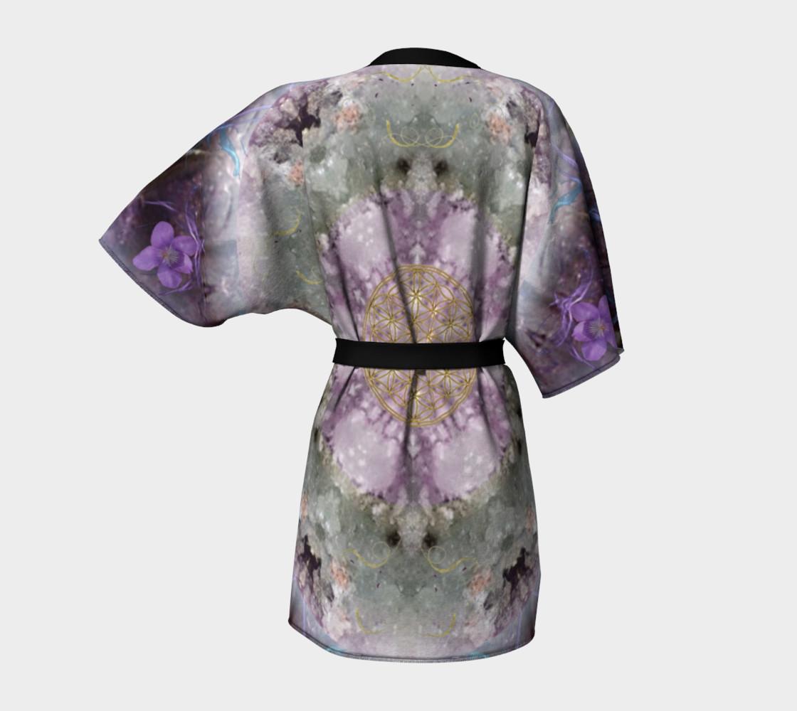 Divine Love Kimono Robe preview #4