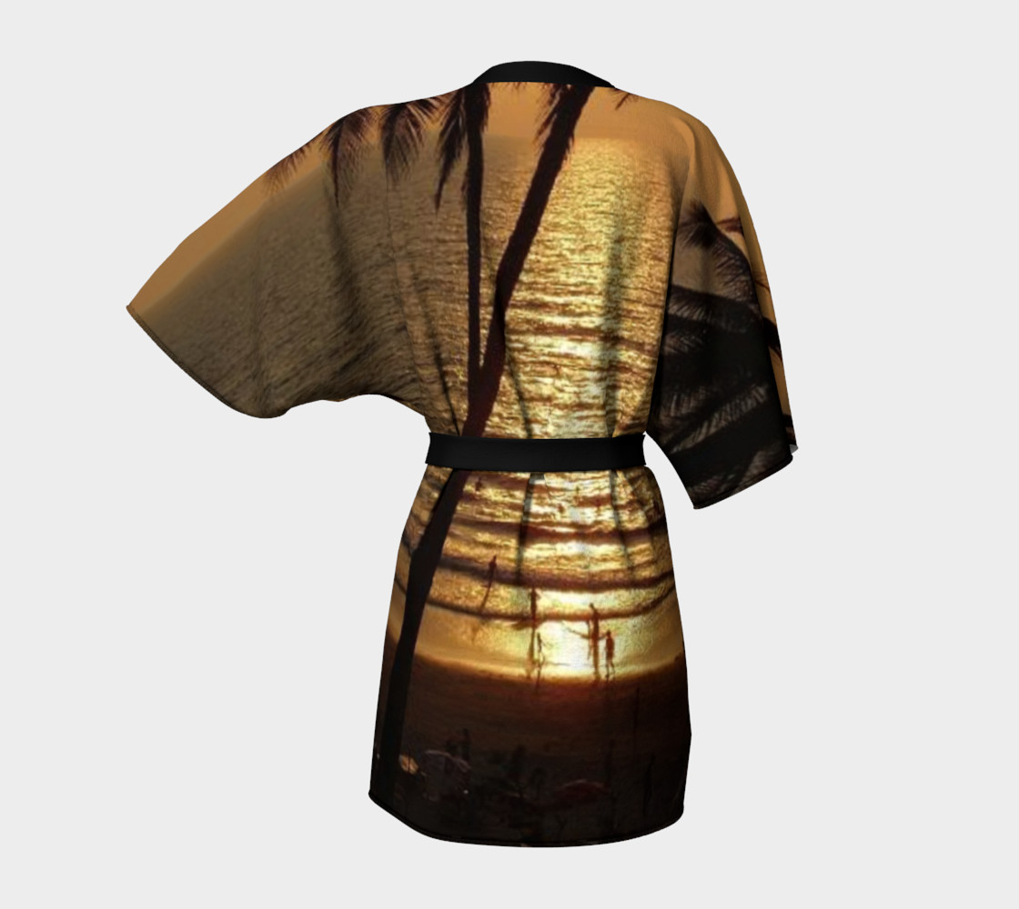 Aperçu de Amazing sunset, Kimono Robe #4