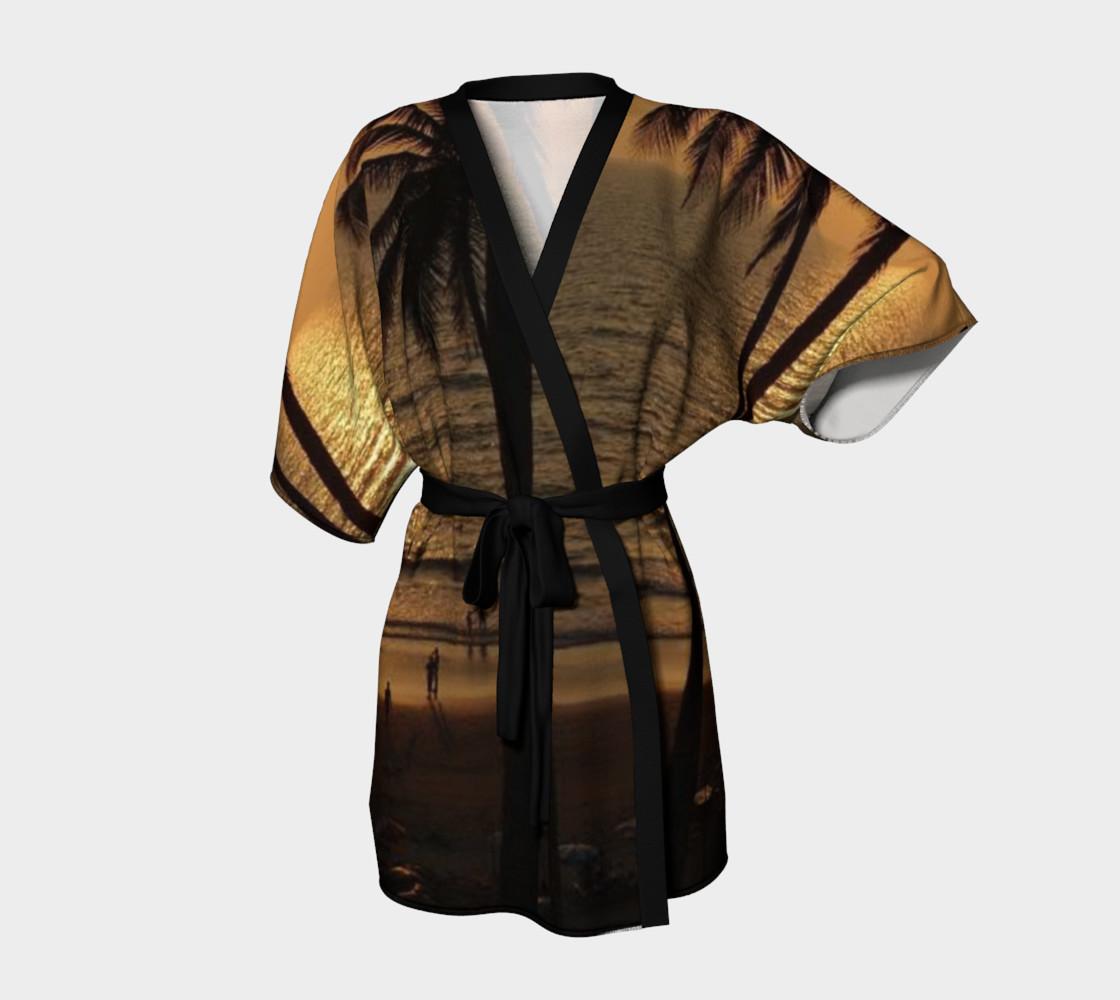 Aperçu de Amazing sunset, Kimono Robe #1