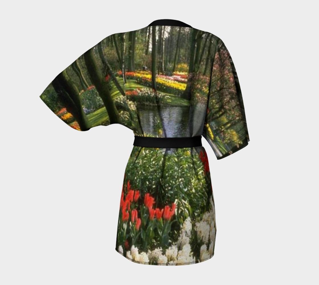 Glimpse of paradise, Kimono Robe. preview #4