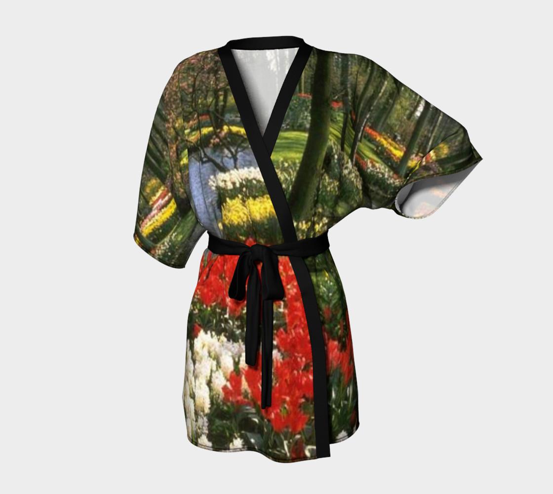 Glimpse of paradise, Kimono Robe. preview #1