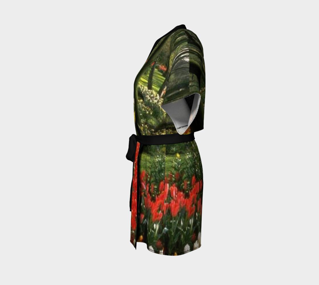 Glimpse of paradise, Kimono Robe. preview #2