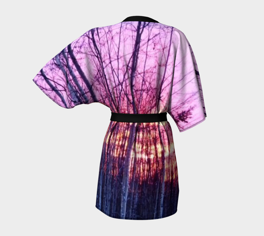 Red Woods in North Pole; Kimono Robe, for anyone. thumbnail #5